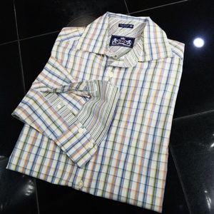 Robert Graham - R&G Mens Button Shirt - M